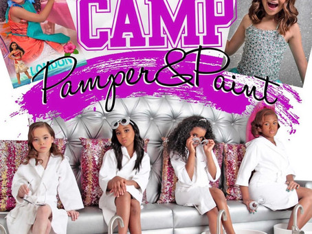 Princess Camp 👑👑 Pamper & Paint!