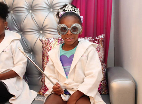 Spa Party: Kyla's 6th Birthday