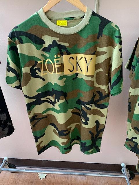 Zoe-Sky Camouflage T-Shirt