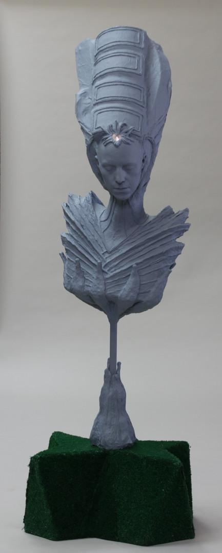 Nefertiti on a Stick
