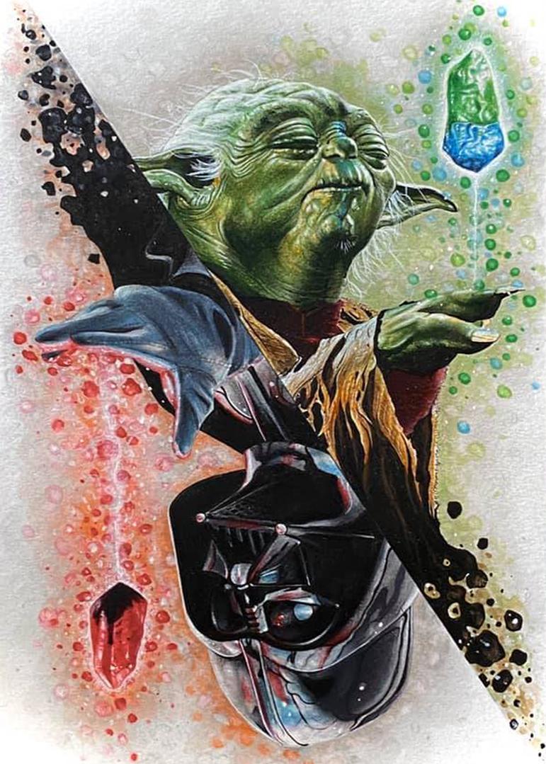 Yoda and Darth Vader