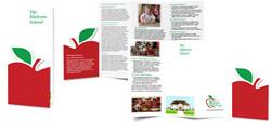 Quadfold Die-Cut Brochure