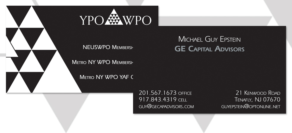 2 Sided Business Card Design