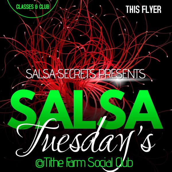 Salsa Secrets Tuesday's - 3rd August