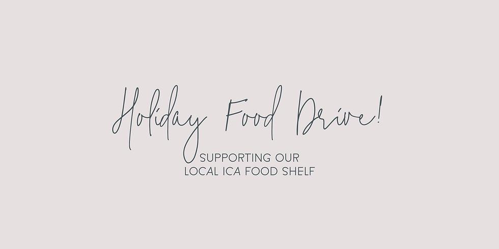 Food Drive // Supporting ICA Food Shelf