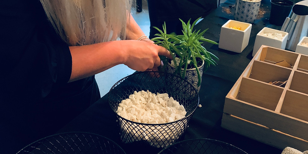 Workshop // Plant & Candle Making // 6-8pm