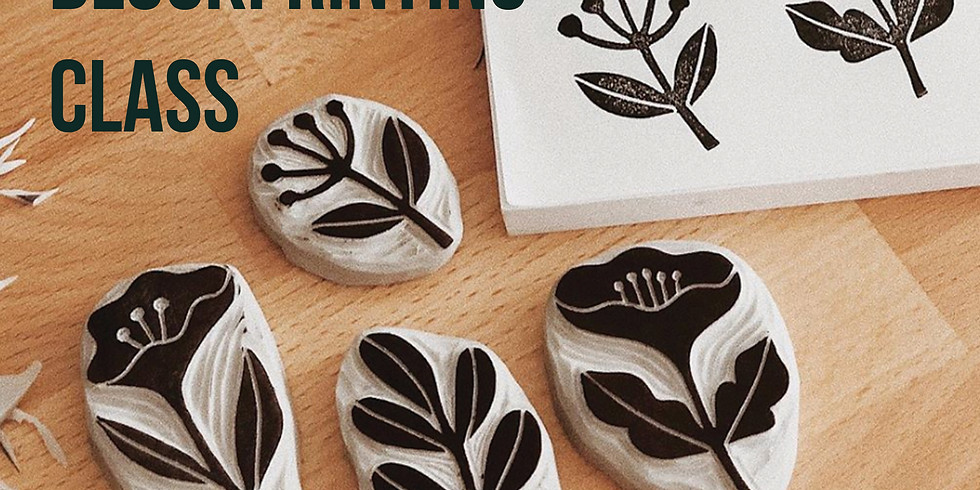Workshop // DIY Blockprinting // 6-8pm
