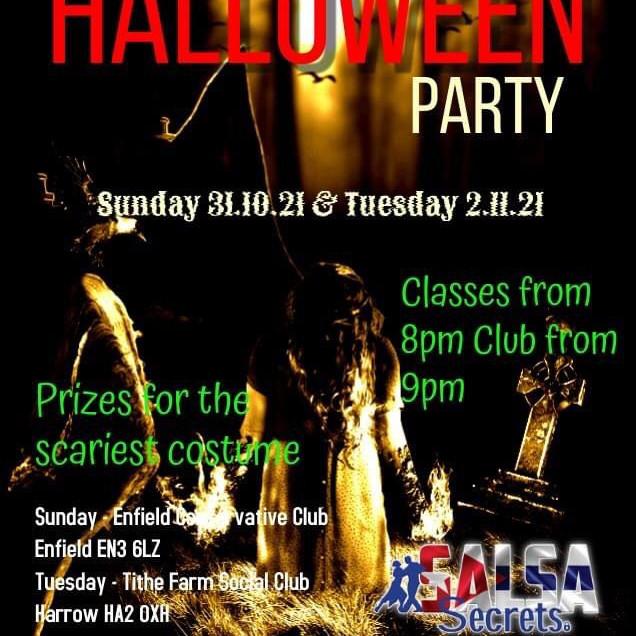 Salsa Secrets Halloween - 31st October