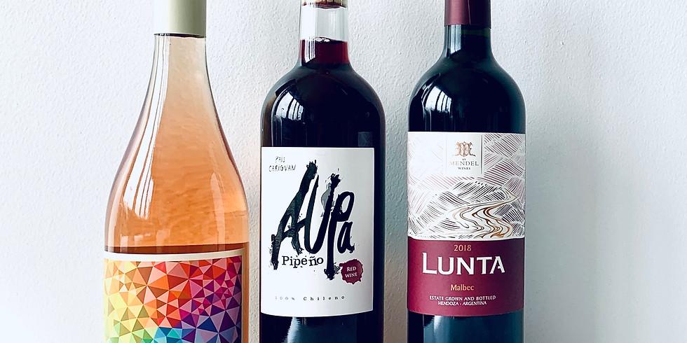 Vine School // NEW Featured Flight! // 6-7pm