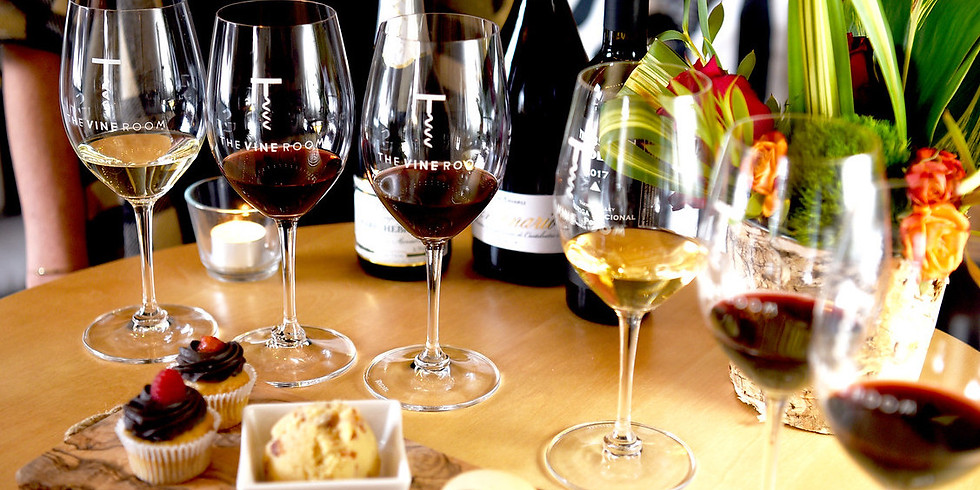Valentine's Day Wine + Dessert Pairings!