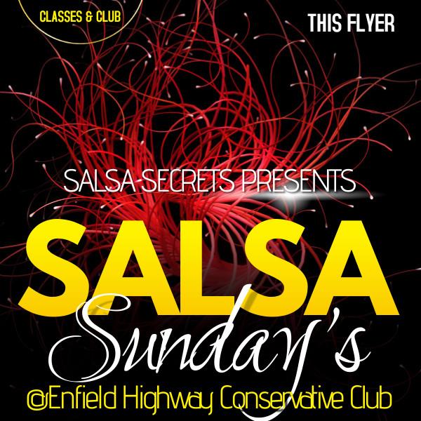 Salsa Secrets Sunday's - 1st August