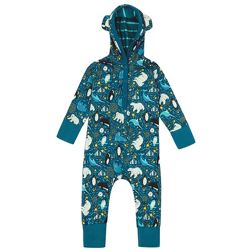 Arctic Hooded Playsuit