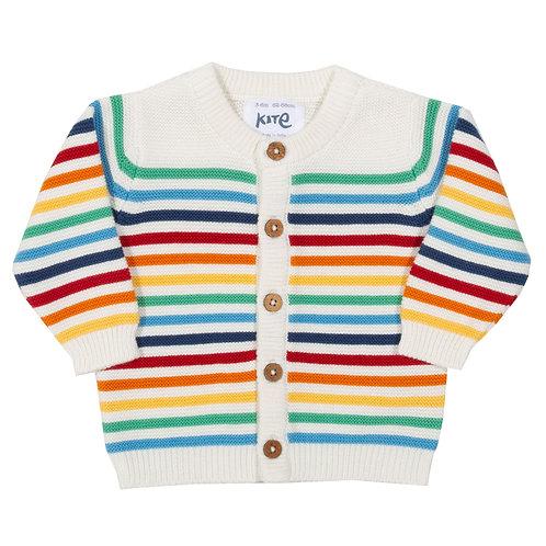 My First Rainbow Cardi