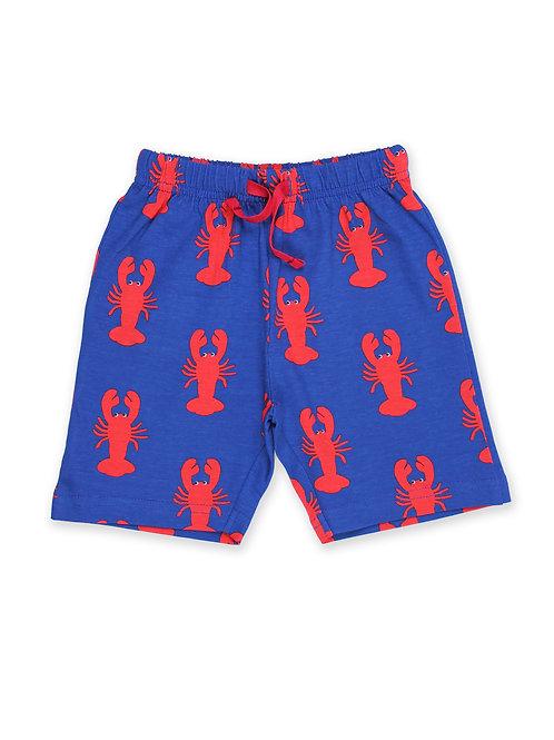 Lobster Print Shorts