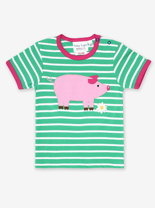 Pig Applique Tee