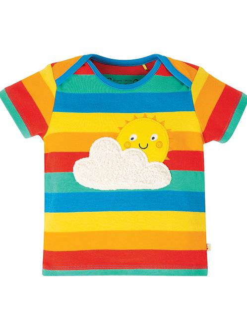 Bobster Applique Tee Sunshine