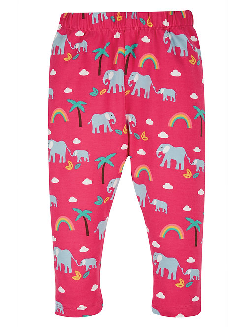 Deep Pink Rainbow Walks Leggings