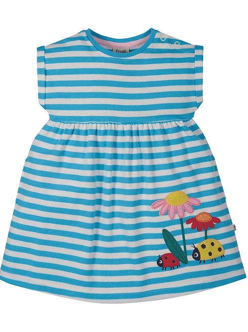 Fliss Applique Ladybird Dress