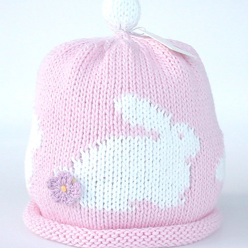 Pink Bunny Hat