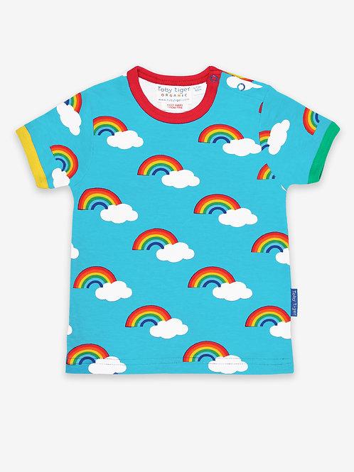 Rainbow Print Tee