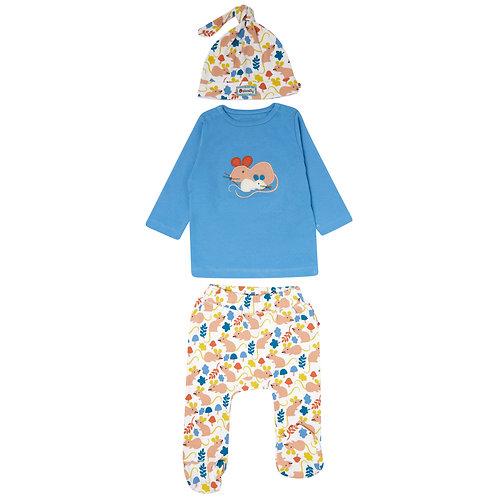 Fieldmouse 3 Piece Baby Set
