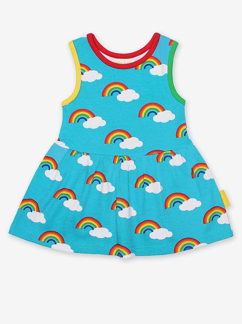 Rainbow Print Summer Dress