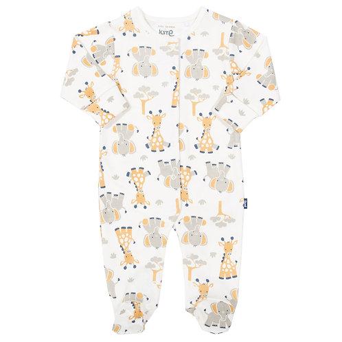 Giraffe and Ele Sleepsuit