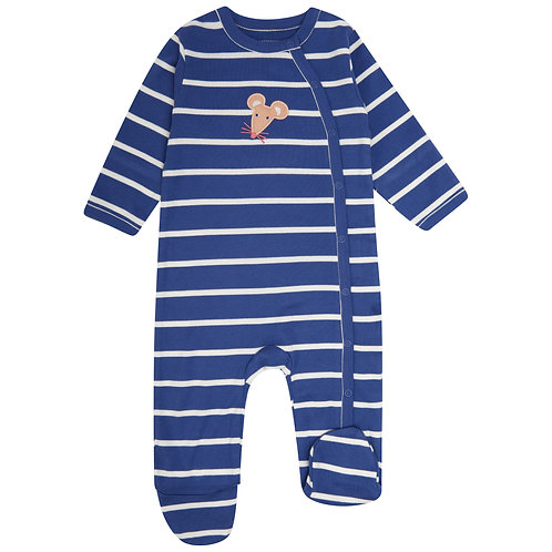 Wrapover Footed Sleepsuit