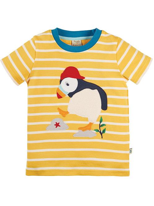 National TrustSid Applique T-Shirt Puffin