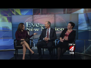 Talking 2016 Goals for the City on KOB-TV