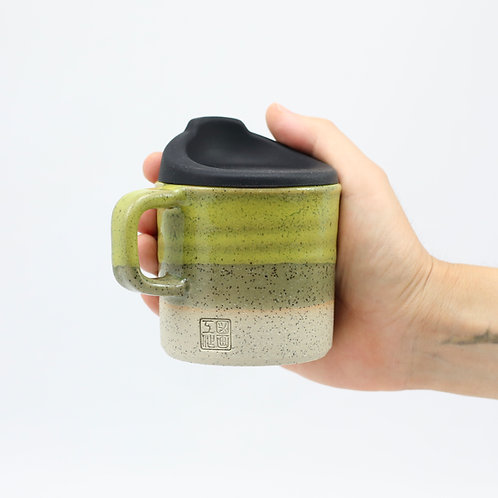 ZUKO Mug (Medium: 8oz) - Lesbos Olive