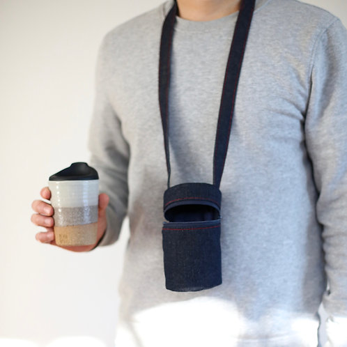 ZUKO Tapered Cup (Medium: 8oz) - Earthy with Limited Edition Travel Tote