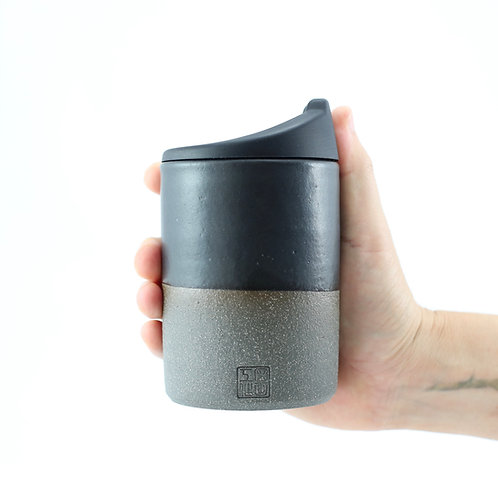 ZUKO Cup (Large: 12oz) - Charcoal Black