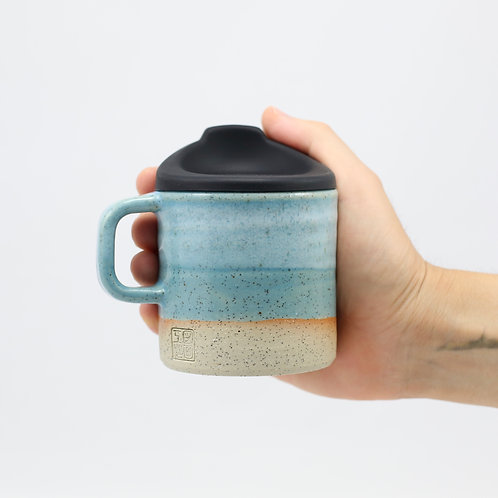 ZUKO Mug (Medium: 8oz) - Maroubra Blue