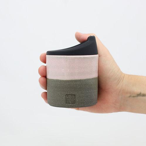 ZUKO Cup (Medium: 8oz) - Sakura Concrete