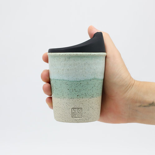 ZUKO Tapered Cup (Medium: 8oz) - Coogee Green