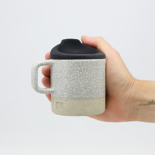 ZUKO Mug (Medium: 8oz) - Sumi Mosaic