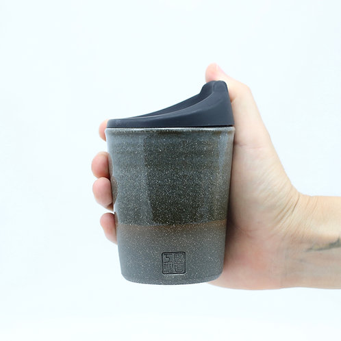 ZUKO Tapered Cup (Medium: 8oz) - Clovelly Grey