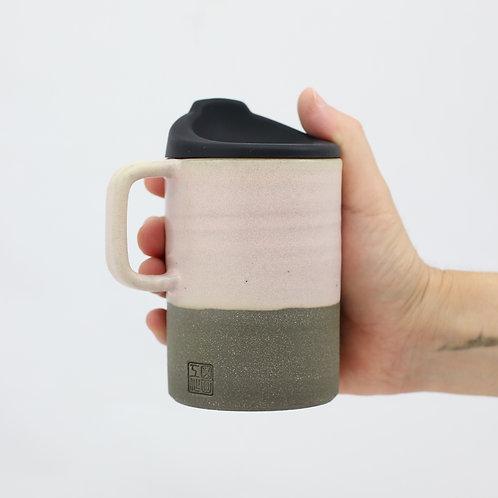 ZUKO Mug (Large: 12oz) - Sakura Concrete