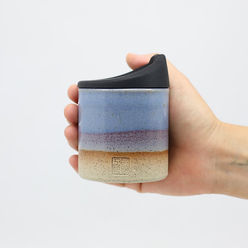 ZUKO Cup (Medium: 8oz) - Jacaranda Bloom