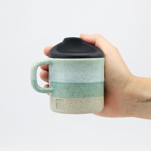 ZUKO Mug (Medium: 8oz) - Coogee Green