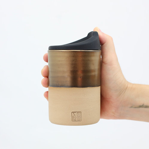 ZUKO Cup (Large: 12oz) - Solid Gold