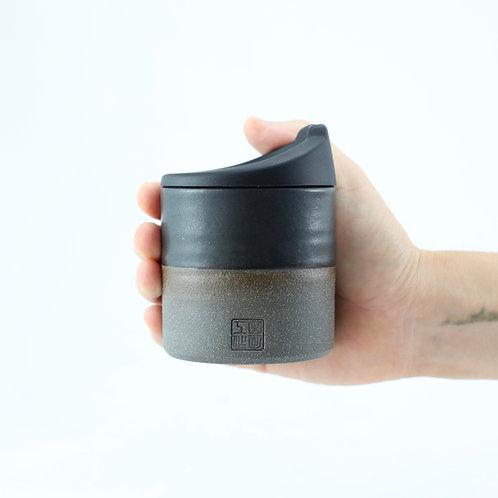 ZUKO Cup (Medium: 8oz) - Charcoal Black