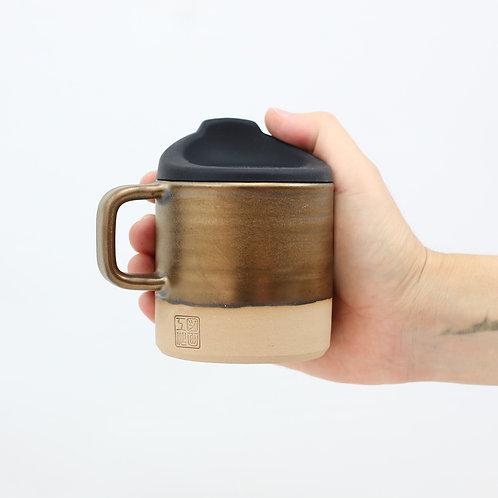 ZUKO Mug (Medium: 8oz) - Solid Gold