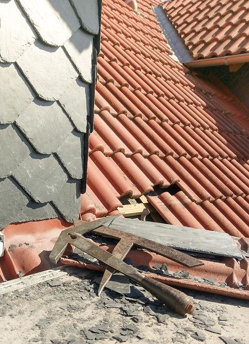 Dachdeckerwerkzeug