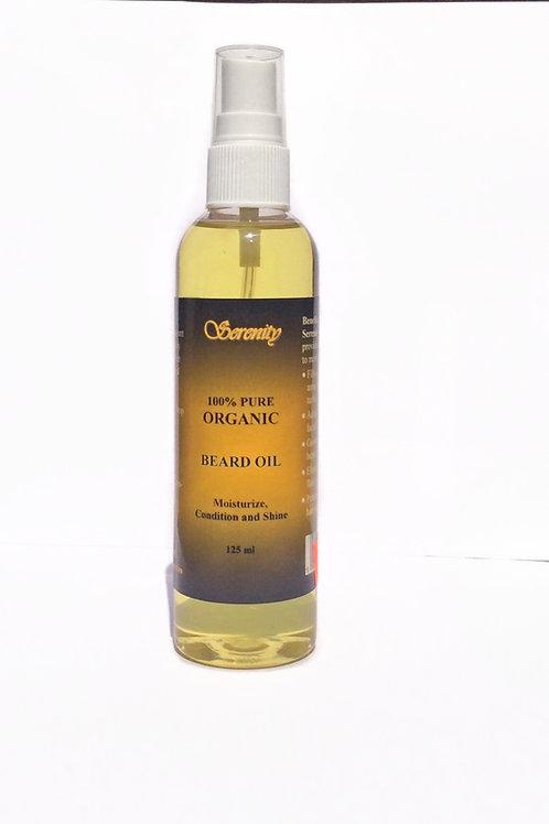 Serenity Organic Beard Oil 4 oz