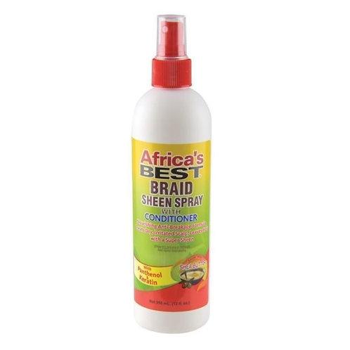 Africa's Best – Braid Sheen Spray 12 oz