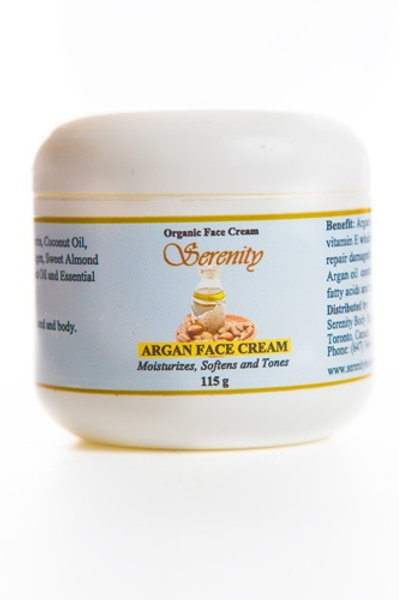 Serenity Argan Face Cream 115 gm