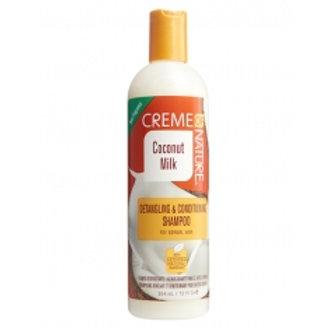 Creme Of Nature Coconut Milk Detangling & Conditioning Shampoo 12 oz