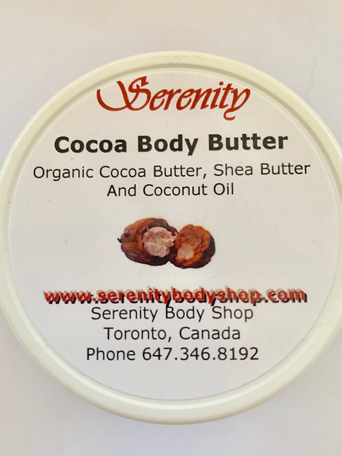 Serenity Organic CocoaBody Butter 60 ml